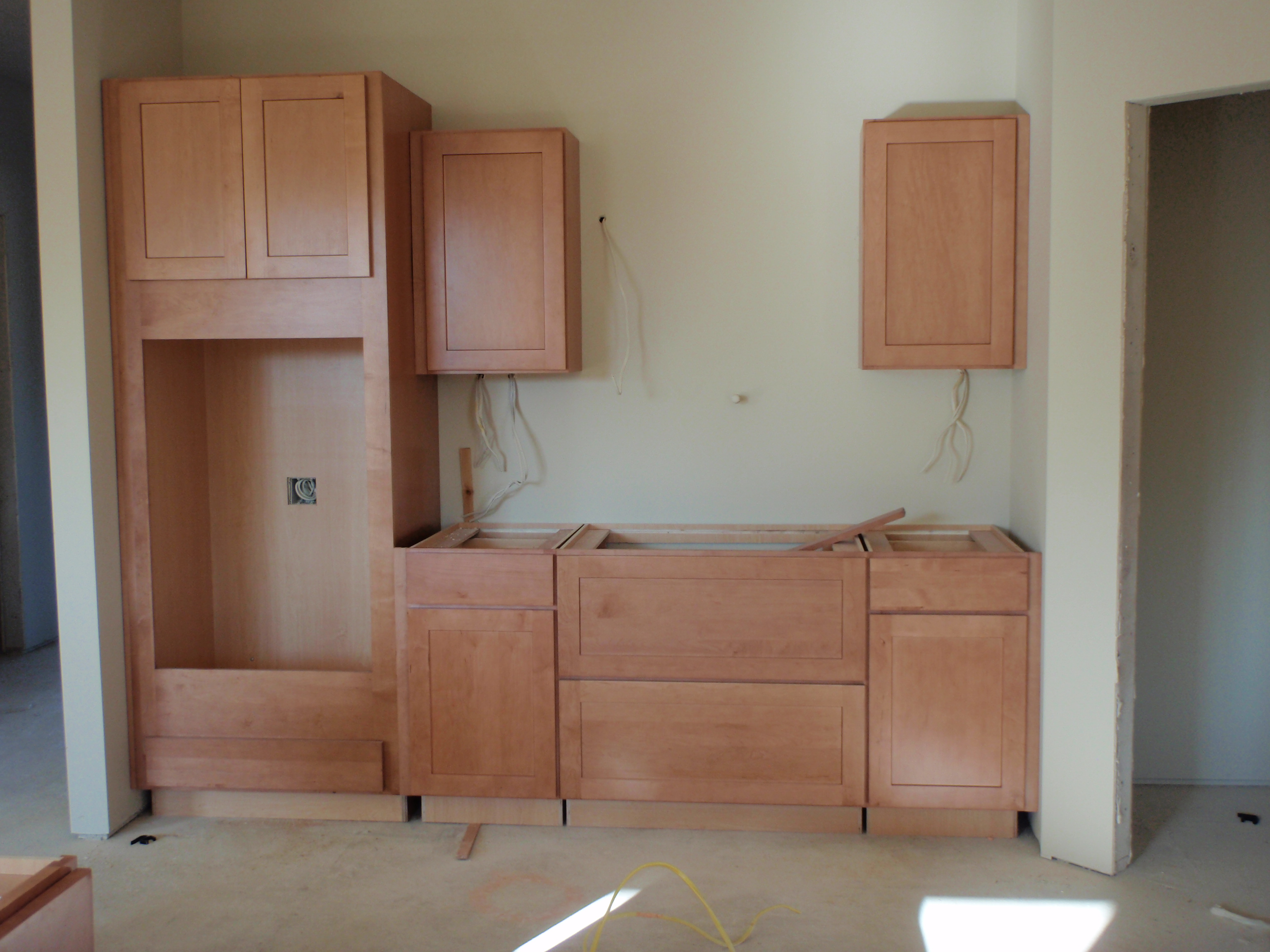 Kitchen Wall Oven Cabinets