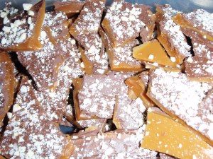 Recipe for Almond Buttercrunch Candy
